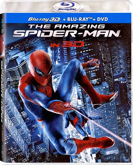 The Amazing Spider-Man 3D (El Sorprendente Hombre-Araña 3D) (2012) 1080p Blu ray 3D Half-OU REMUX 18GB mkv Dual Audio DTS-HD 5.1 ch