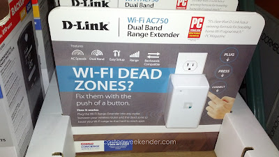 Eliminate those dead spots and surf the web wherever you want with the D-Link AC750 Wi-Fi Range Extender