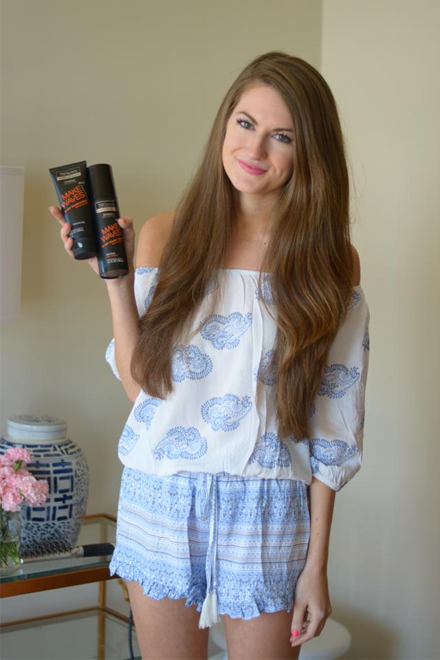 Southern Curls & Pearls Everyday Curls Hair Tutorial