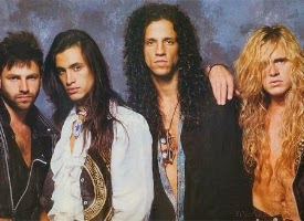 Formacion de Extreme 1990