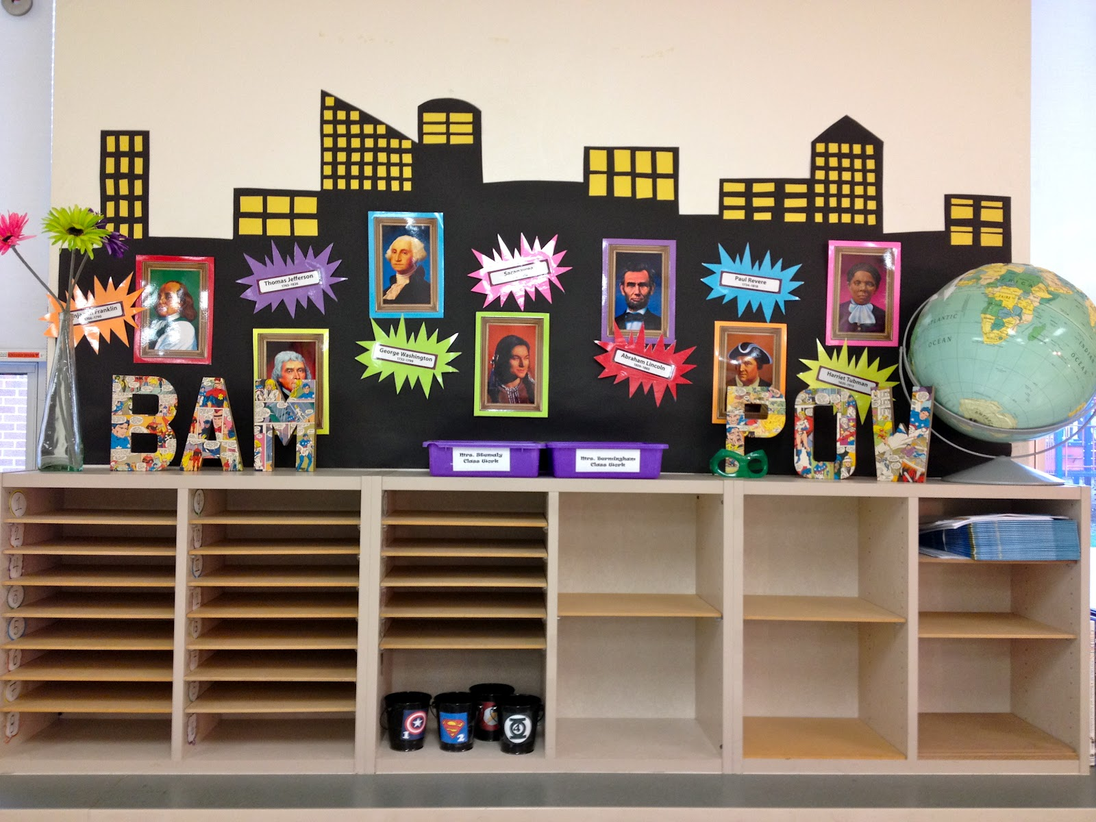 Classroom Ideas Superheroes ~ The art of learning superheroes unite a classroom tour
