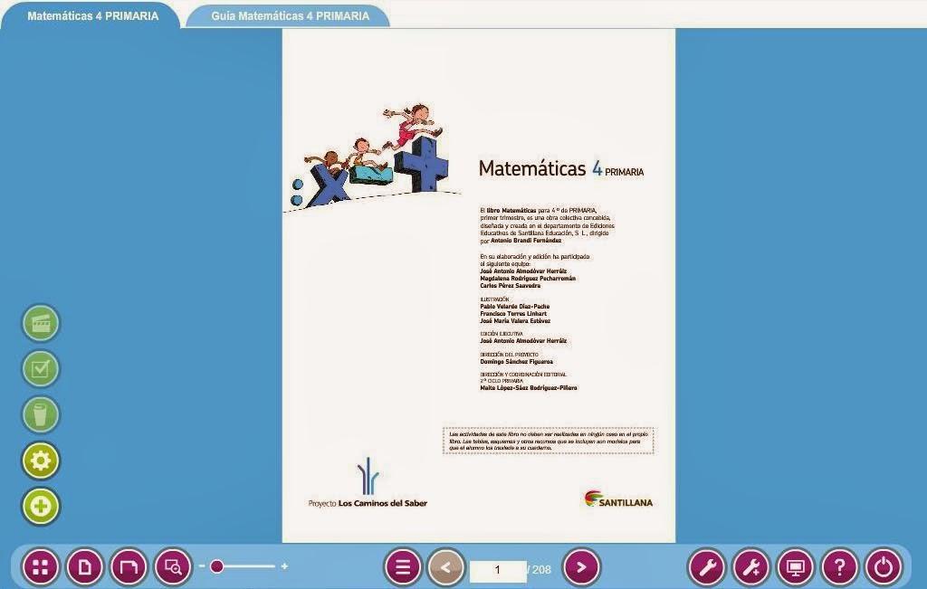 Libromedia Santillana de Matemáticas