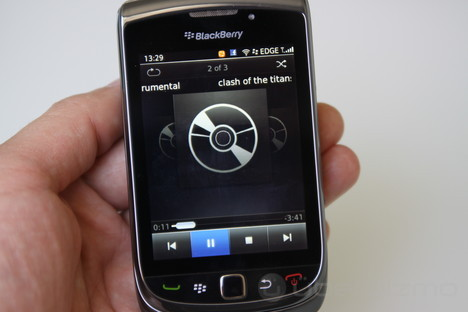 blackberry music player app
