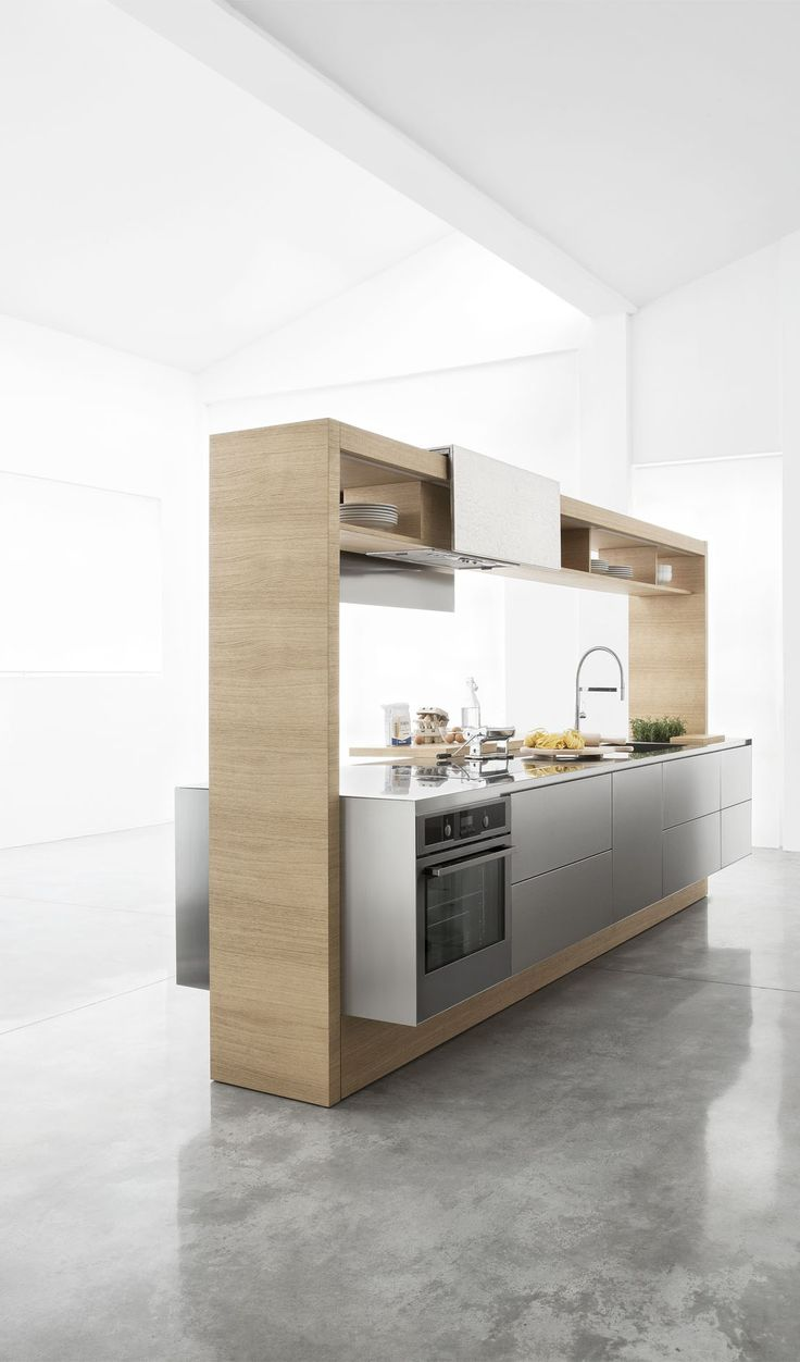 Archea freestanding modular kitchen system by Aris