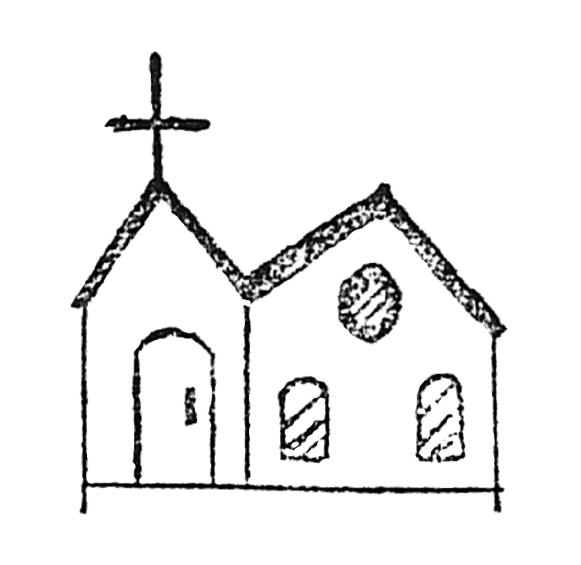 Coloring Page Catholic Church