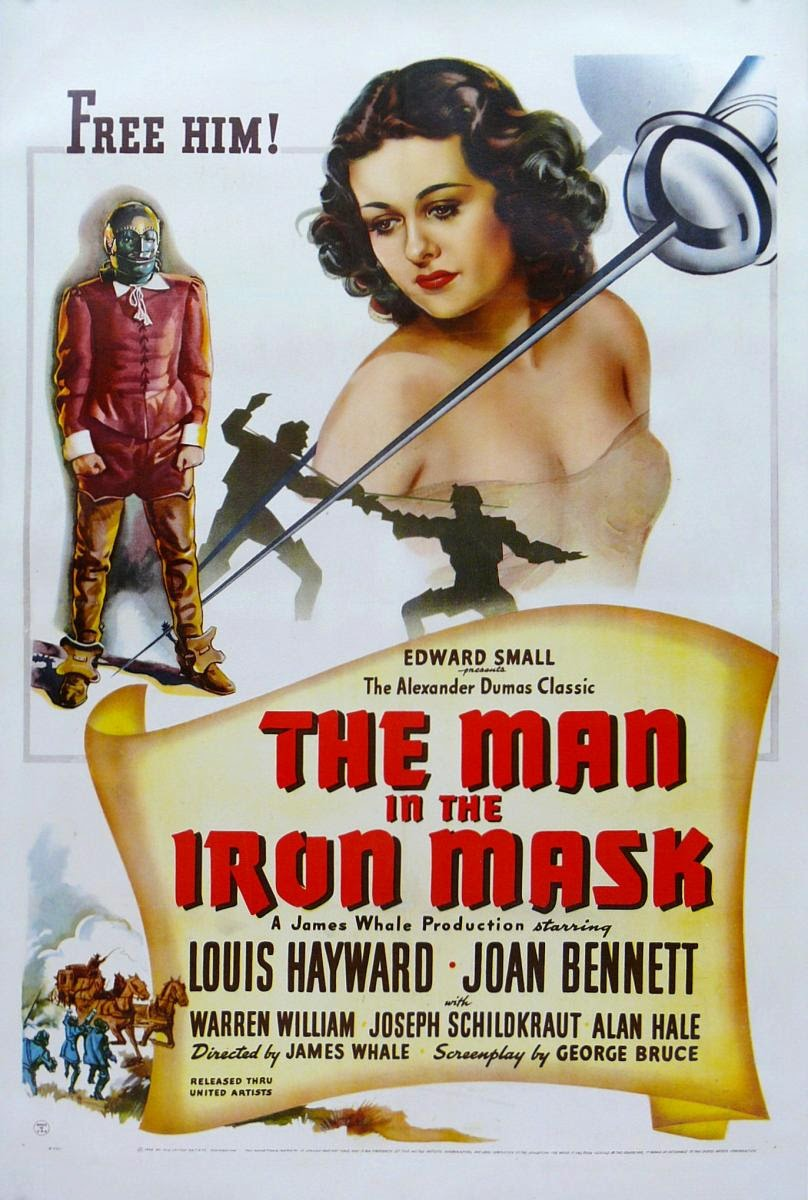 La máscara de hierro (1939) Descargar y ver Online Gratis