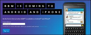 BBM di Android dan iPhone (iOS) Akan Hadir September