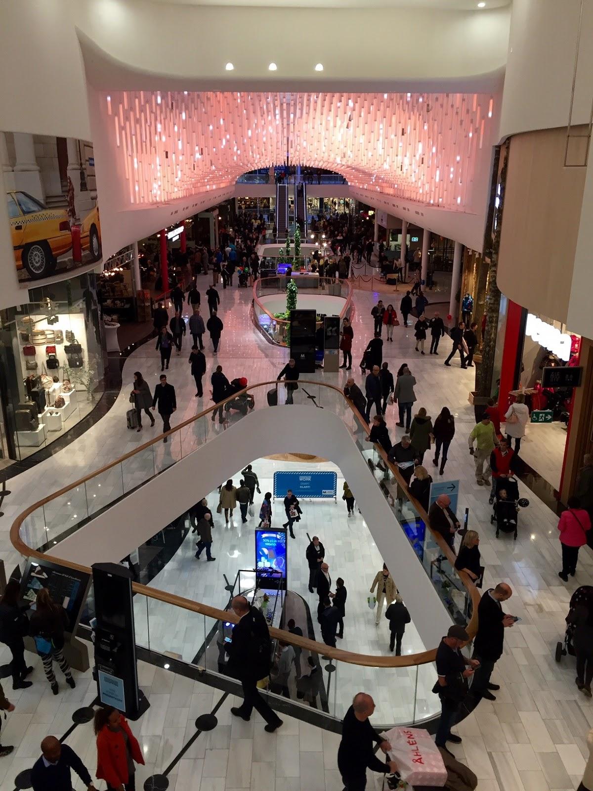 mall of scandinavia shops