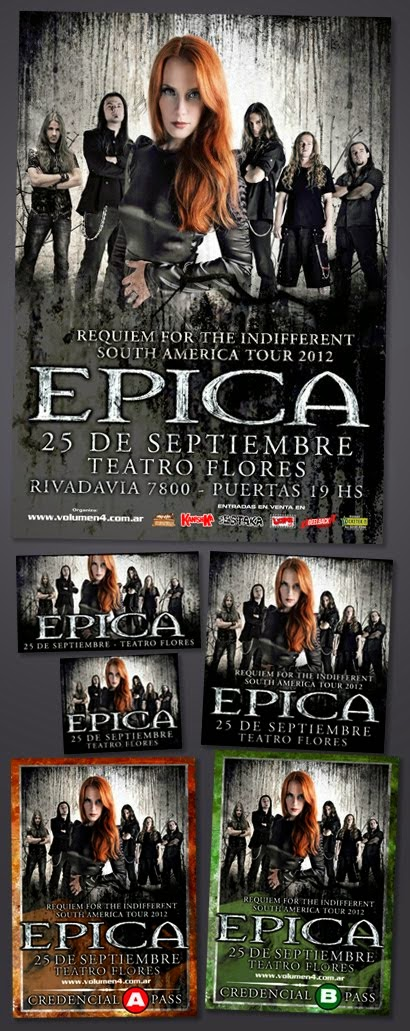 Epica 2012 / Pack Prensa Completo