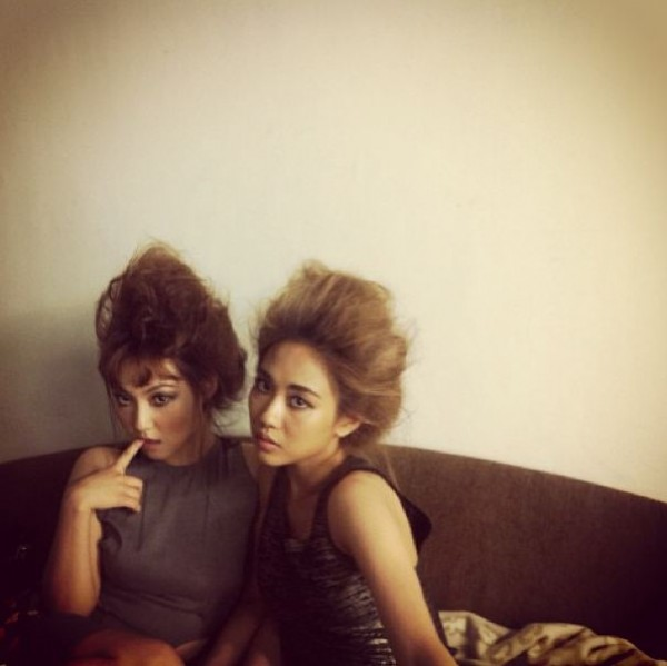 Min & Fei Miss A Crazy Hairstyle