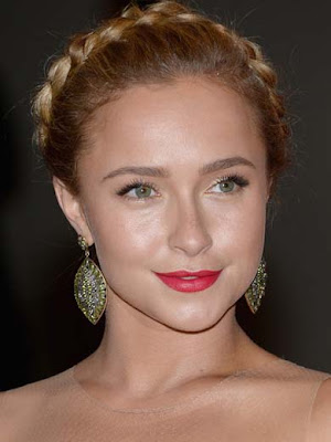 Hayden Panettiere Dangling Gemstone Earrings