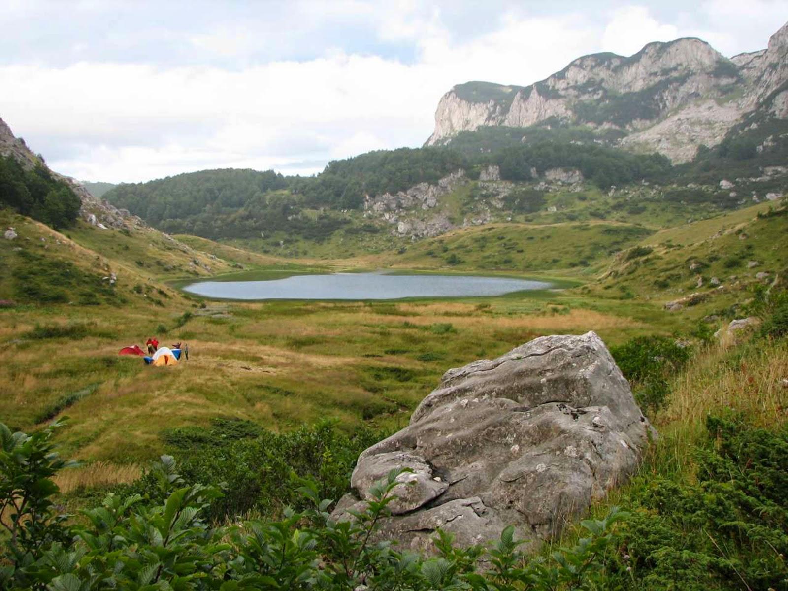 Full HD Lake Green Mountains Nature Desktop Backgrounds Image Wallpaper Free