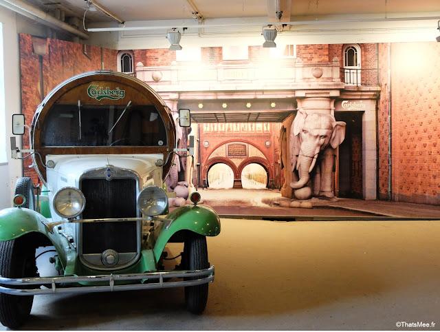 camion biere vintage musee biere brasserie copenhague carlsberg city copenhague