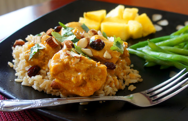 Recipe for Slow Cooker Curried Chicken #crockpot #slowcooker
