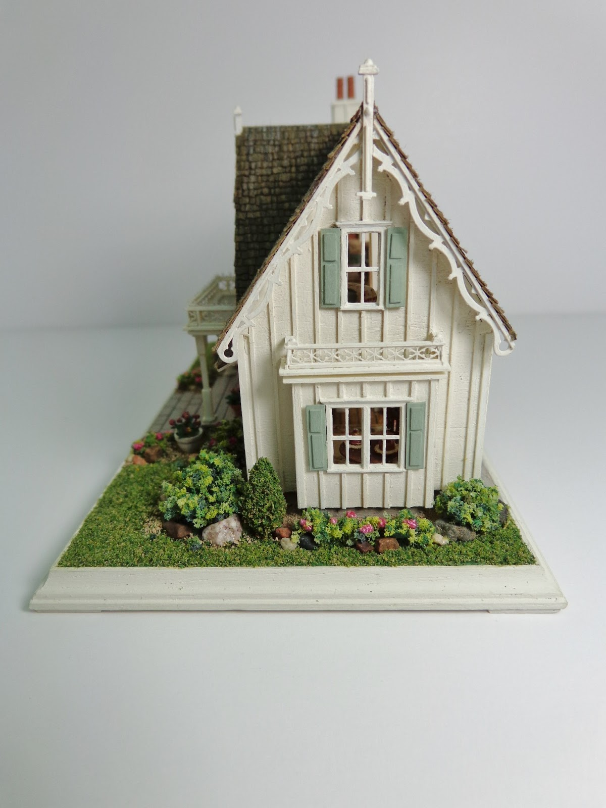 custom best ashtreecottage miniature story country cottages is my newest house old a this the images dollhouse cottage pinterest ideas houses on