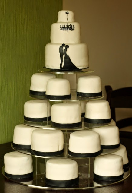 minicake wedding cake