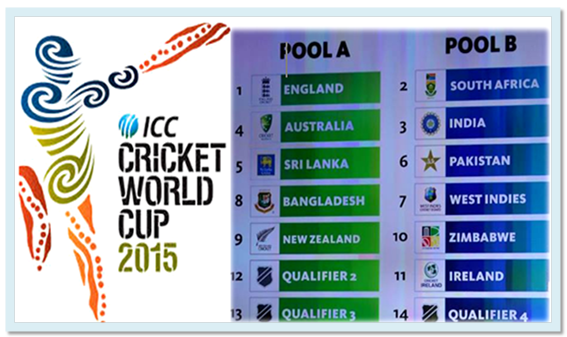 Cricket World Cup 2015 Fixtures PDF ~ Trends Fuel | Trends Community