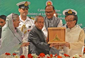 World news, Dhaka, Bangladesh, Monday, Conferred, Second highest award, President, Pranab Mukherjee, Valuable contribution, Country's liberation war, 1971.