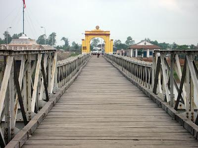 Frontera Vietnam du Nord et du Sud Vietnam