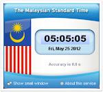 Waktu PIAWAIAN Malaysia (MST)