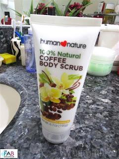 #FABReview | HUMAN NATURE Coffee Body Scrub | www.aimeeguerrero.com
