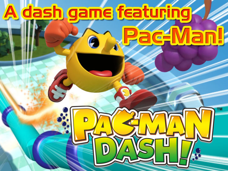 PAC-MAN DASH! App iTunes App By NamcoBandai Games Inc - FreeApps.ws