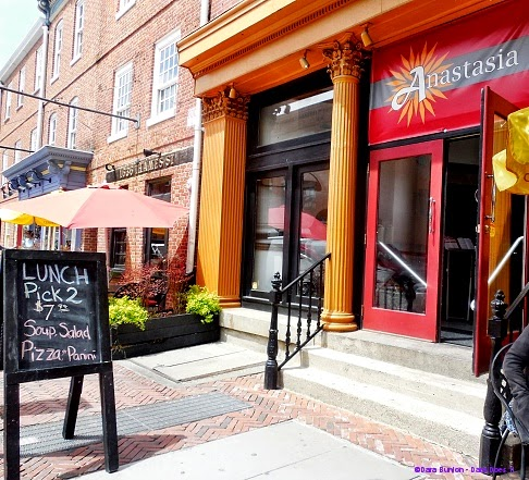 italian lunch fare in fells point: anastasia italian bistro