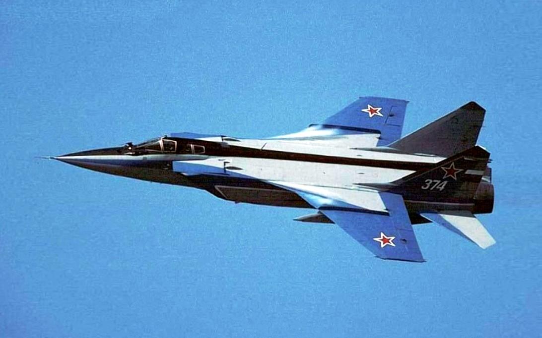 MiG-31 Foxhound jet fighter wallpaper 3