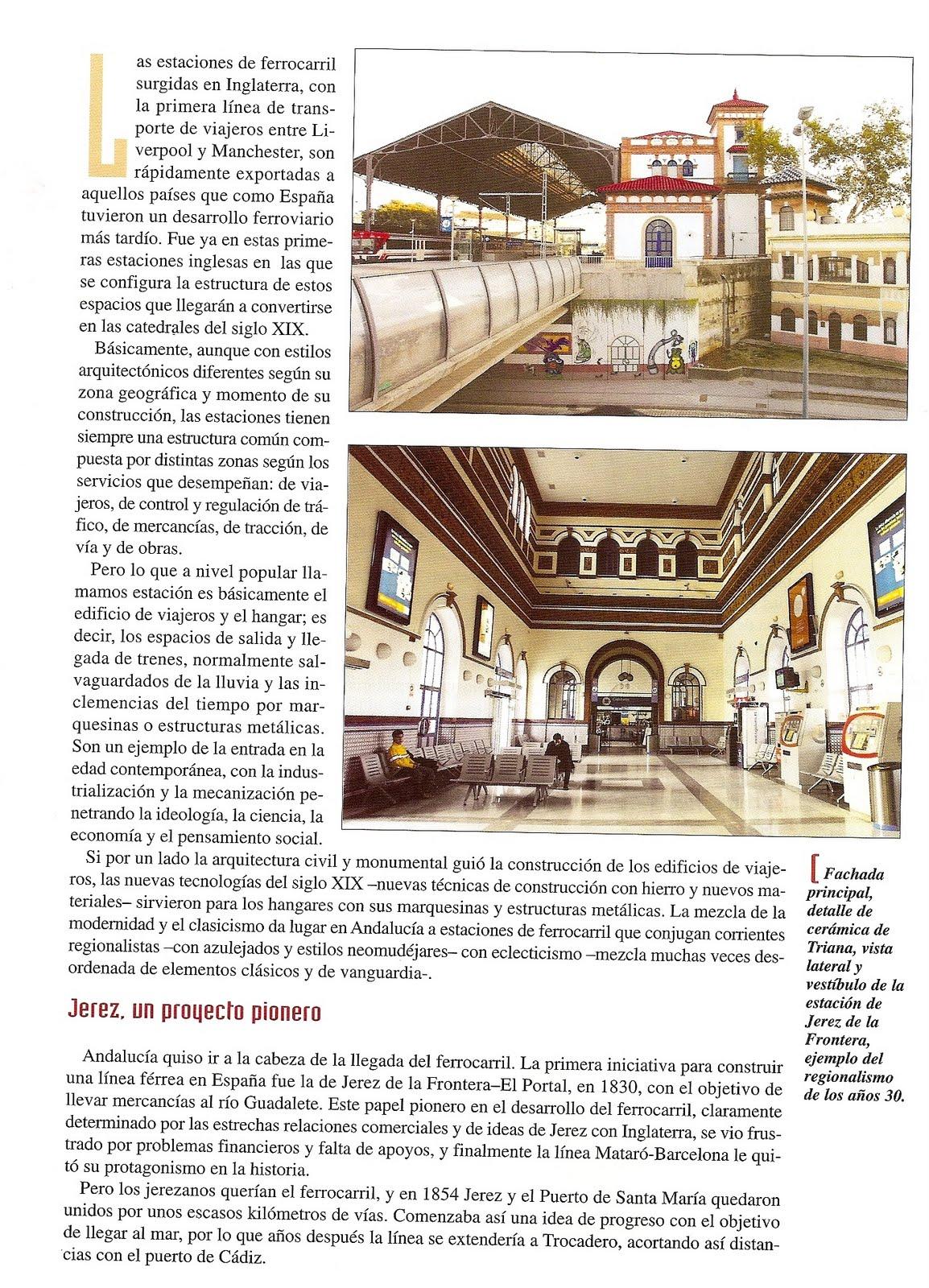 Club ferroviario jerezano historias de estaciones y ferrocarril - Estacion de tren puerto de santa maria ...