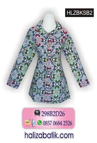 Baju Blus Batik Motif Tenun. 085706842526 INDOSAT, Baju Batik Modern, Gambar Baju Batik, Grosir Batik, HLZBKSB2