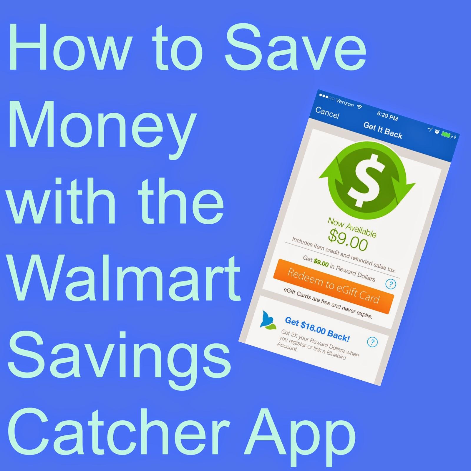 To save money with the walmart savings catcher app wmtsavingscatcher