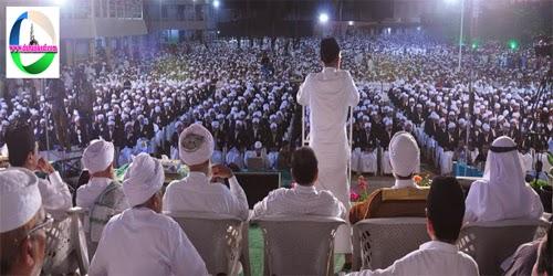 പാല്ക്കടലായി ഹിദായ നഗര് ദാറുല് ഹുദാ സമ്മേളനത്തിന്  ഉജ്ജ്വല സമാപനം