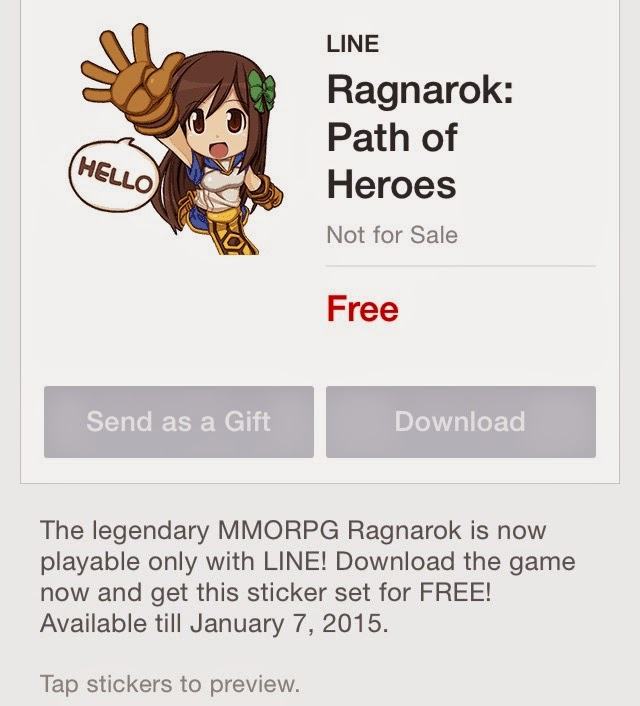 Ragnarok: Path of Heroes stickers