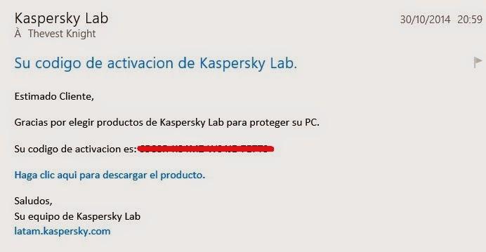 احصل على مفتاح Kaspersky أصلي باسمك لمدة 180 يوم دون برامج تفعيل
