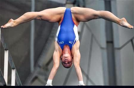 Female Gymnasts Muscular Calves