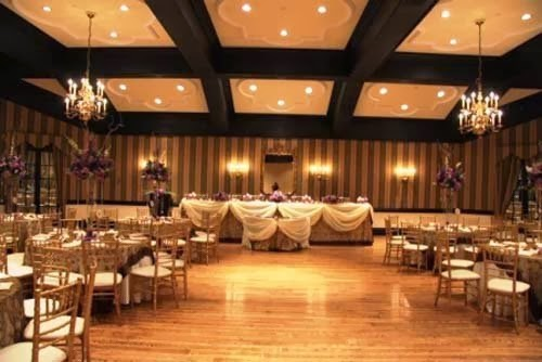 2014 Beautiful gold wedding decorations