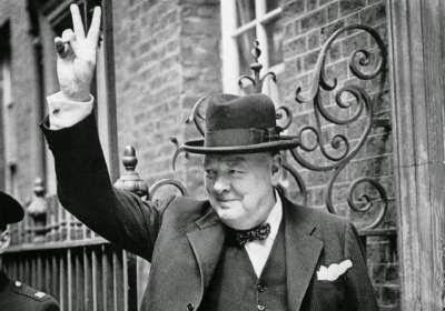 Perdana Menteri Inggris Winston Churchill