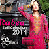 Rabea Kurti Collection 2014 By Shariq Textile - Designer Kurtis For Winter Season