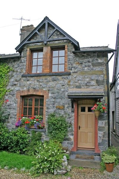 Simply vintageous by suzan stone cottages for Tiny stone cottage
