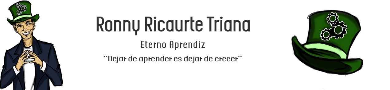 Blog de Ronny Ricaurte Triana
