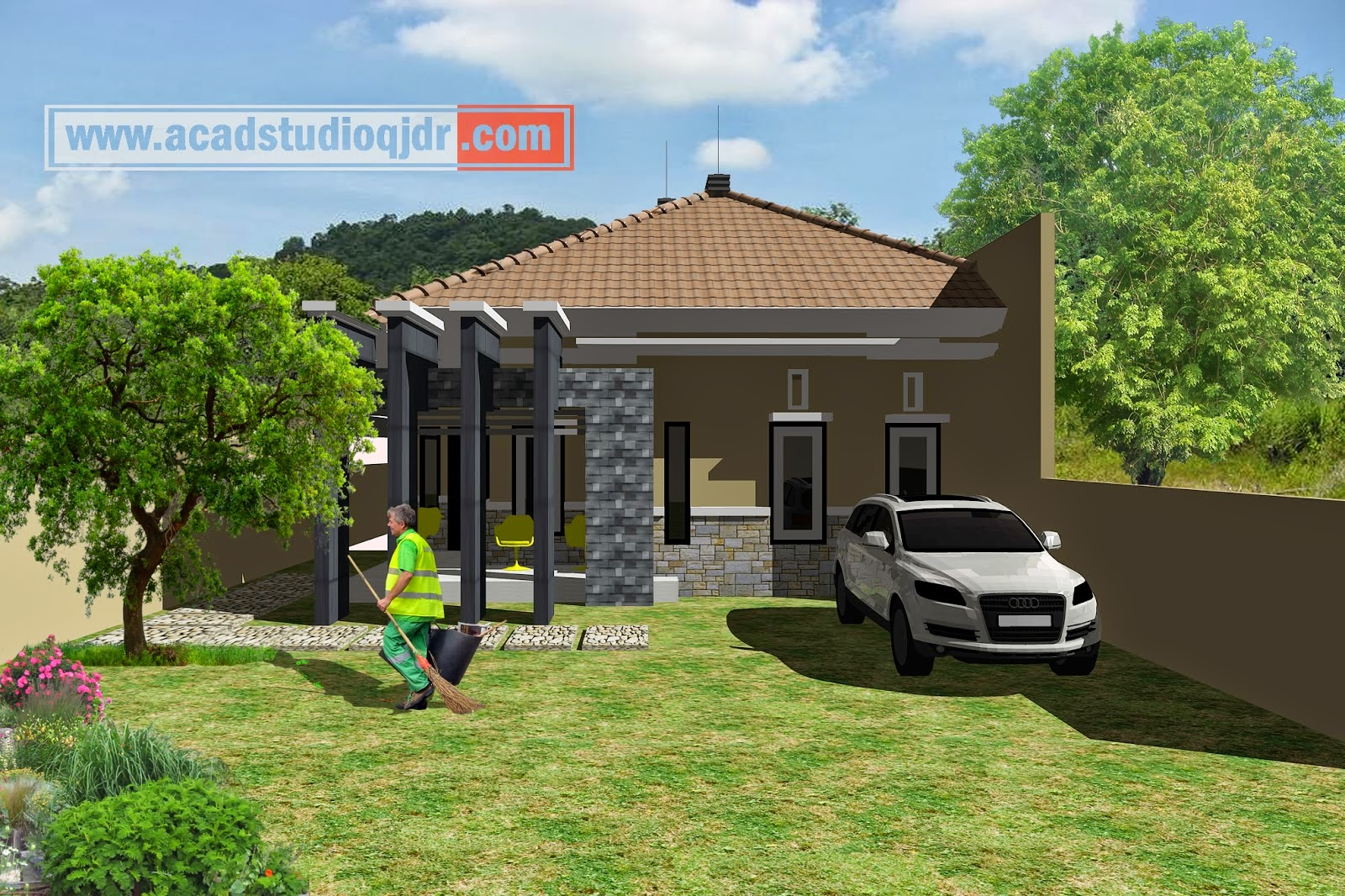 bangun rumah dengan biaya murah jasa desain rumah