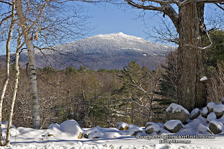 Mount Monadnock winter, Marlborough, New Hampshire