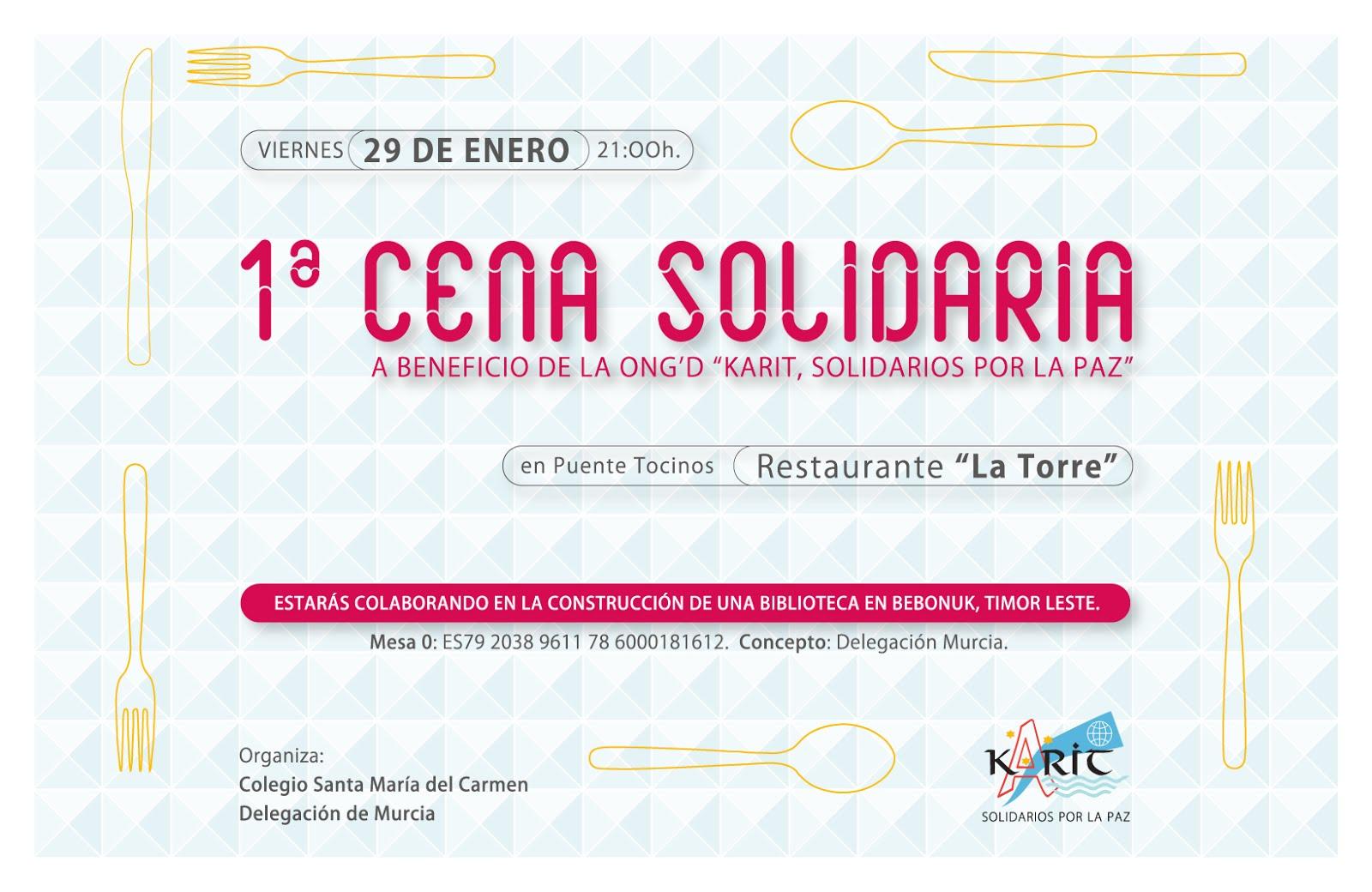 I Cena Solidaria