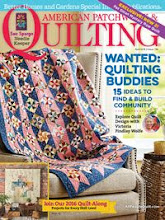 And here...a profile of quilter Victoria Findlay Wolfe