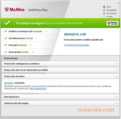 mcafee antivirus crack version
