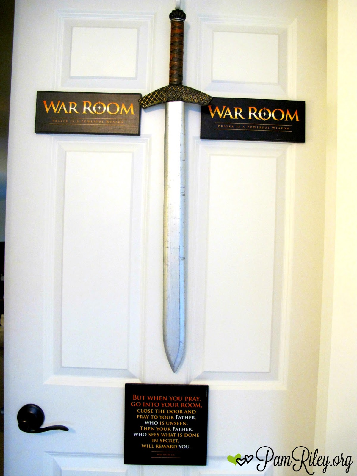 Good Prayer Closet   War Room