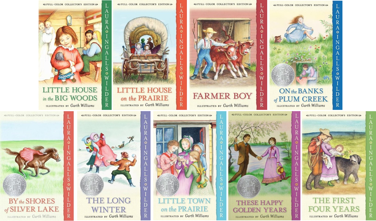 Little House series book covers