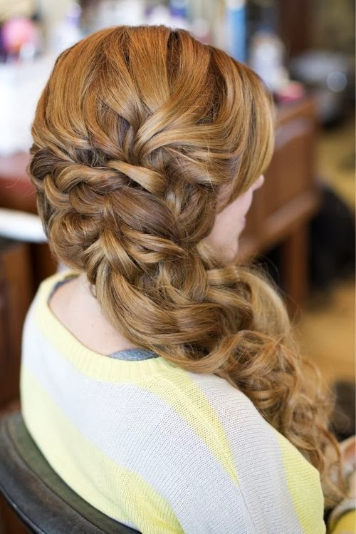 prom hairstyles tumblr girls