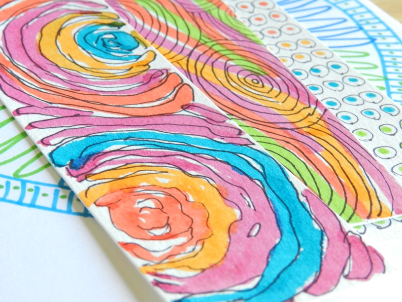Maker and Pen Paper Bookmarks: Grow Creative