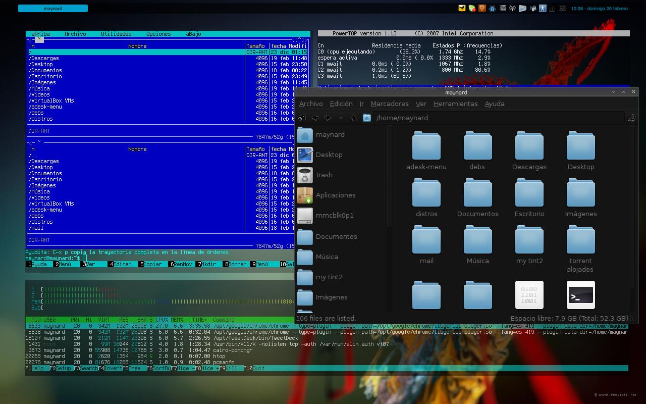 free 720p wallpapers: Debian Squeeze Wallpaper